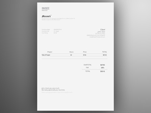 Invoice Template Search Results Freebie Supply - Invoice template illustrator