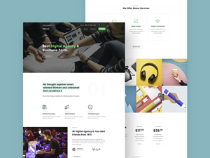 Small business website templates free to download freebie supply small business website template psd freebie cheaphphosting Images
