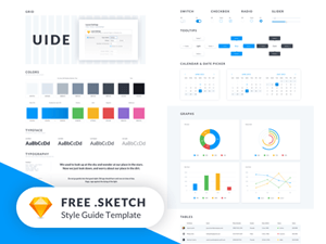 Style Guide Freebies Handpicked For Download - Brand style guide template