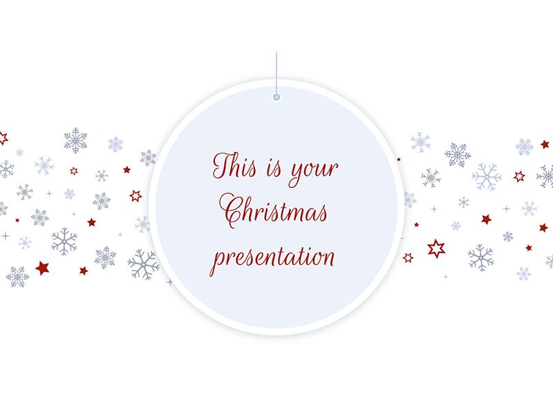 Christmas 2017 - Free PowerPoint Template & Google Slides Theme ...