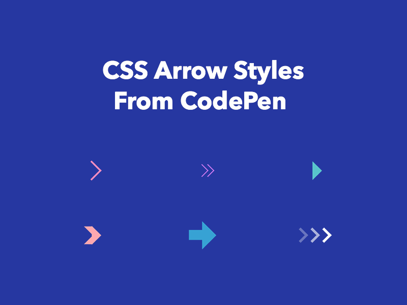 Css Arrows From Codepen Freebie Supply