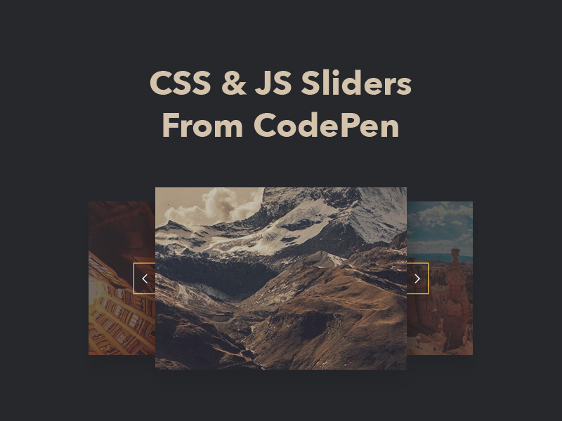 JS Images Slider - How To Create Simple Javascript ...