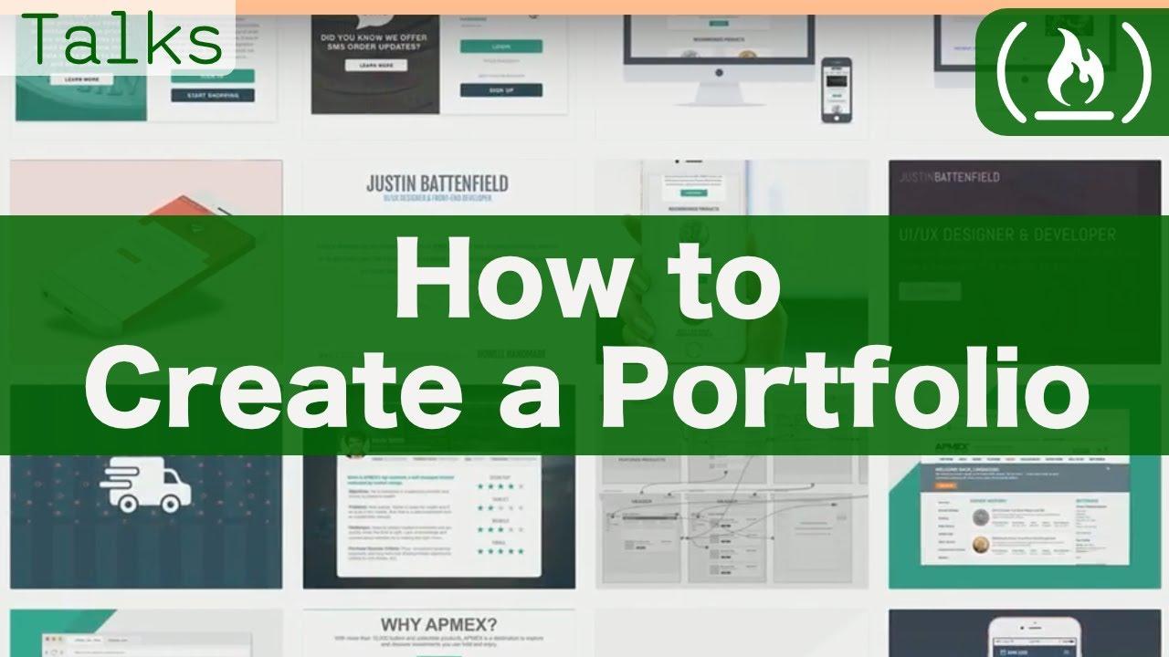How to Create a Portfolio Website
