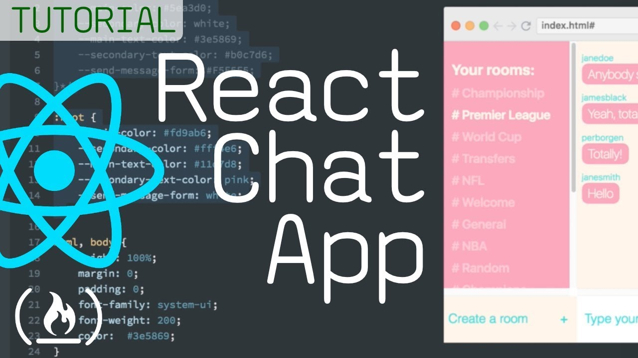 Full React Course: How to Build a Chat Room App Using React