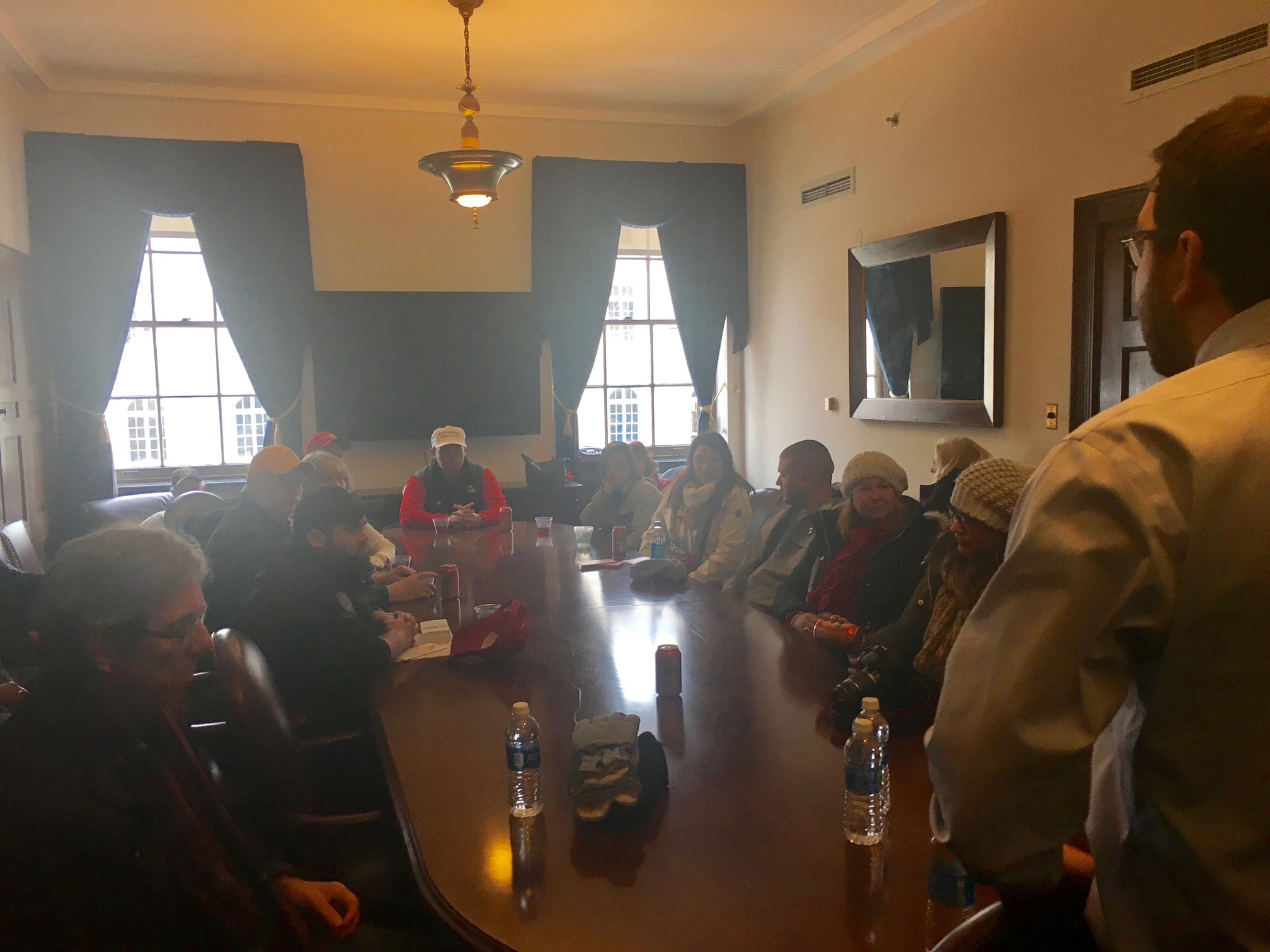 FreedomWorks activists meet with Rep. Mark Walker's Chief of Staff