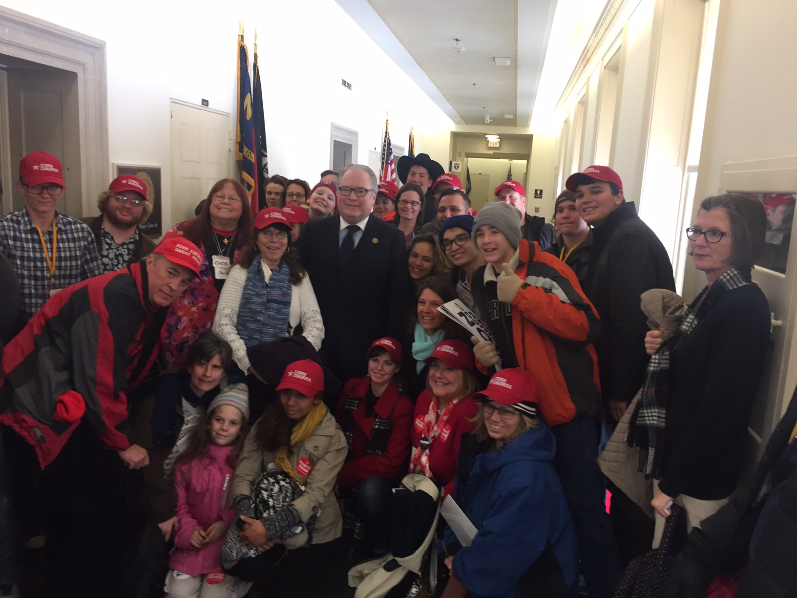FreedomWorks activists meet with Rep. George Holding