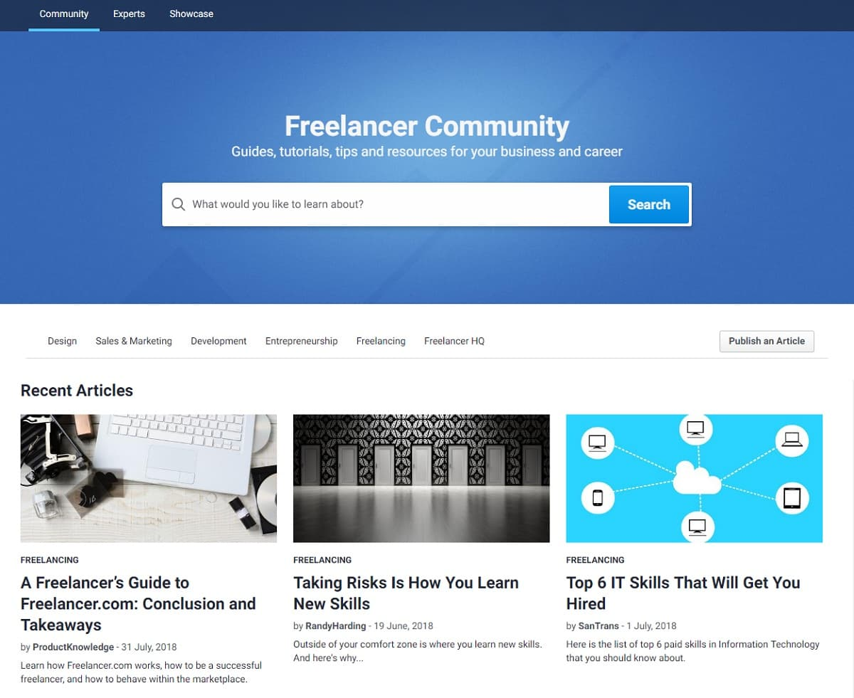 Freelancer.com community