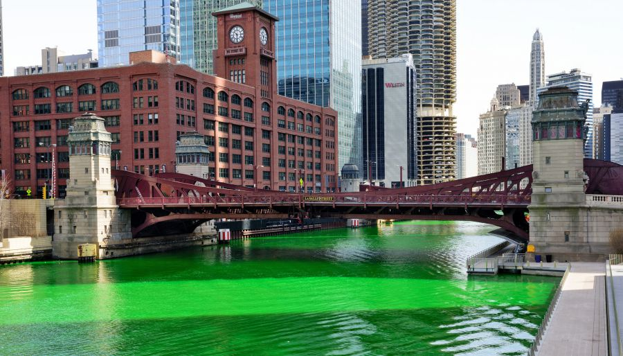 Celebrating St. Patrick, from London to Chicago