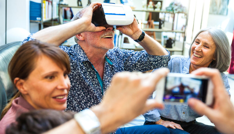 VR for baby boomers