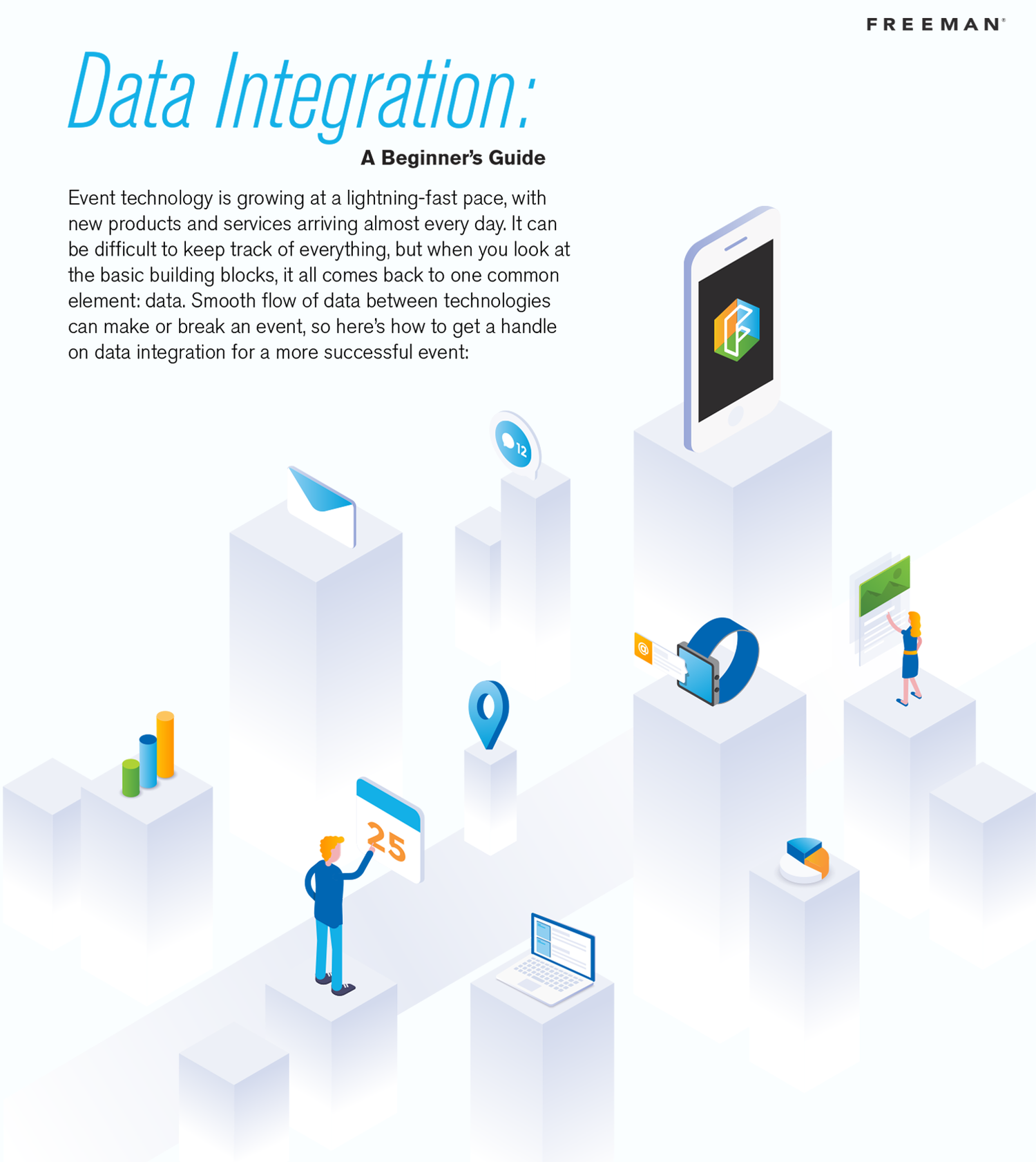 Infographic: Your Beginner's Guide to Event Data Integration | Freeman