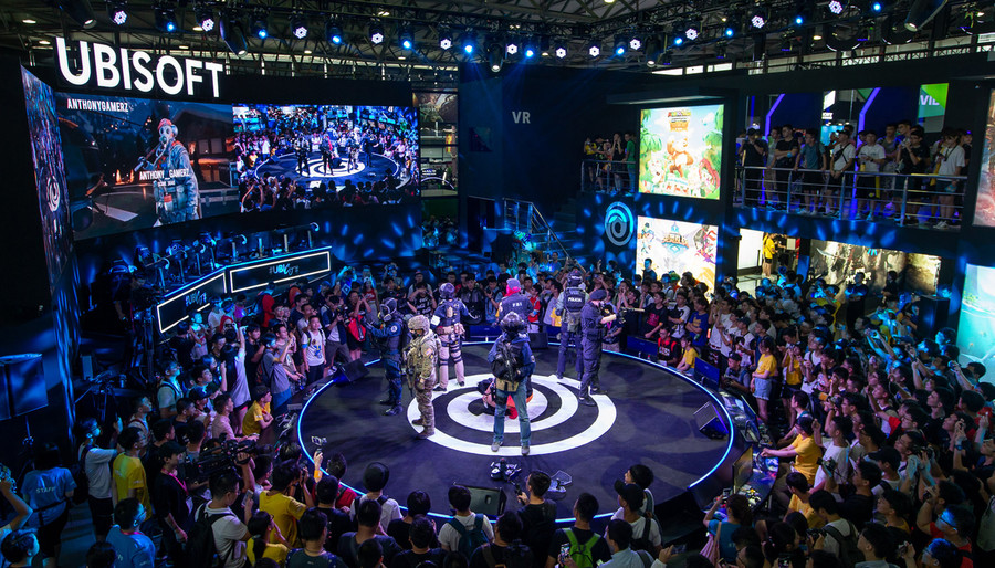 Ubisoft Unlocks the Next Level at ChinaJoy