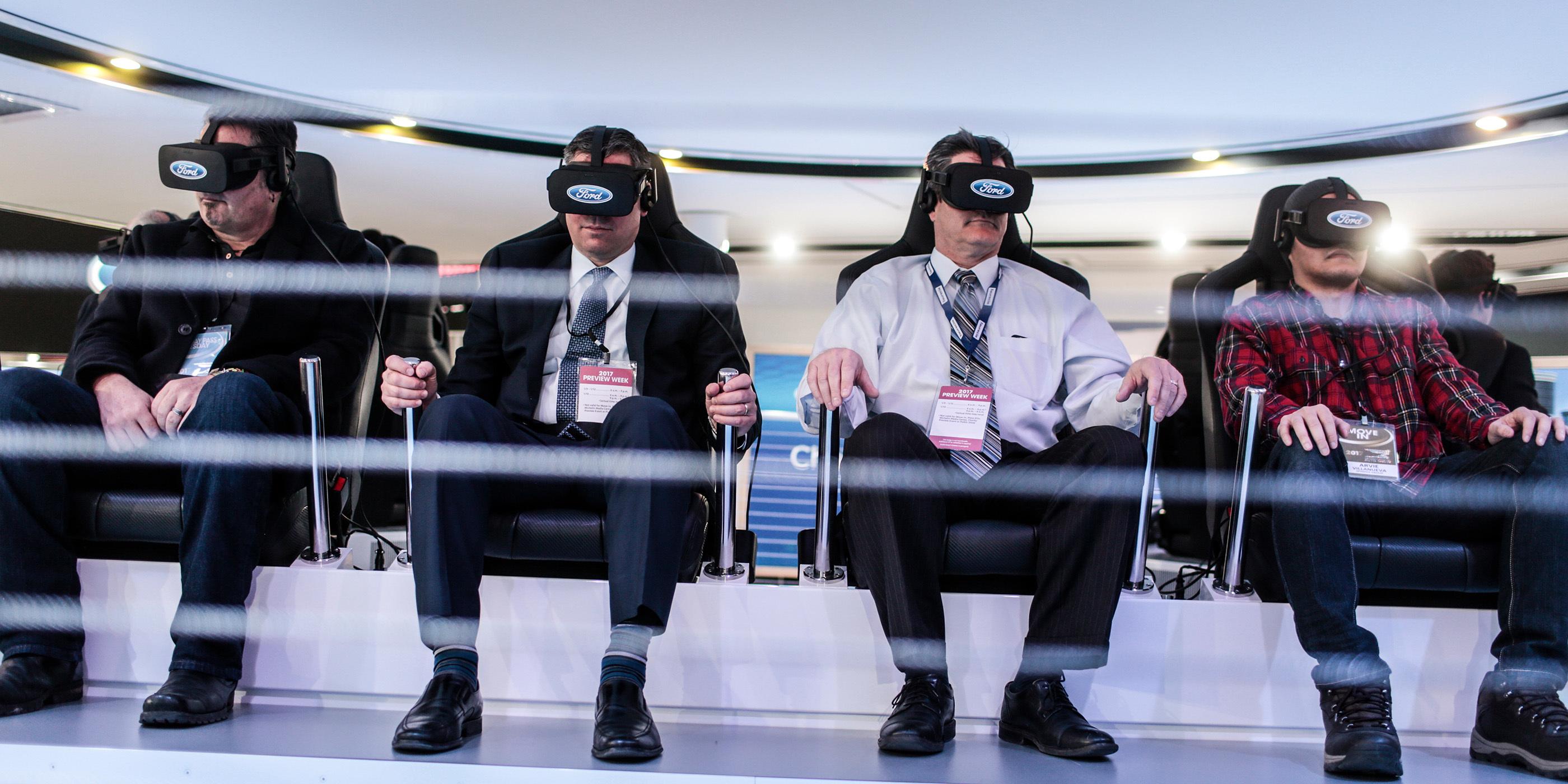 Freeman Insights Video Garrett Car Ford Virtual Reality Header