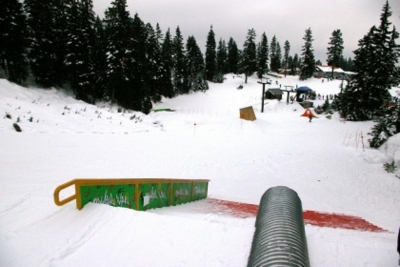 Young Guns Terrain Park Mt Seymour