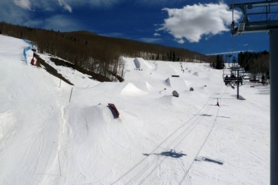 Greek Peak Terrain Park