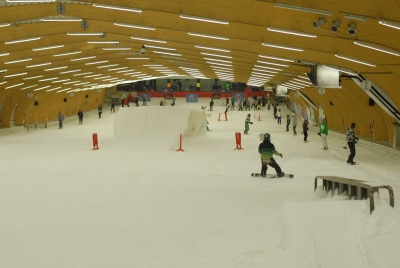 ice mountain indoor snowpark Comines