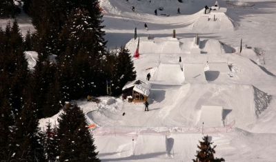 smooth park snowpark Tignes
