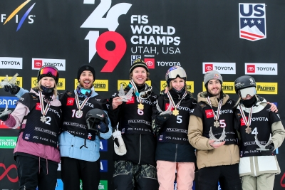 Aaron Blunck e Kelly Sildaru in trionfano a Park City (USA)