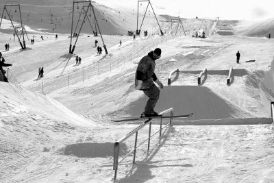 "Snowpark ""Gravity Park"" anche in estate"