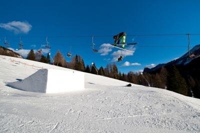 snowpark christomannos carezza Nova Levante Bolzano