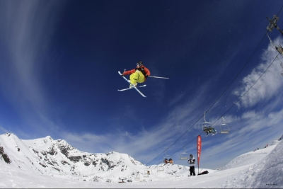 The Remarkables Parklife Halfpipe Water race