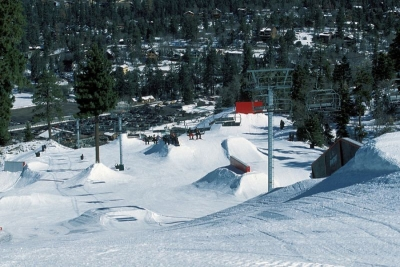 Snow Summit Terrain Park