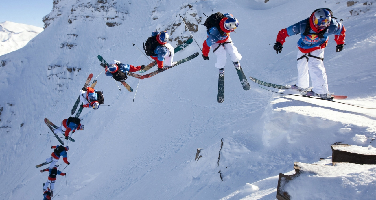 Red Bull Linecatcher 2015, il 17 Gennaio a  Les Arcs