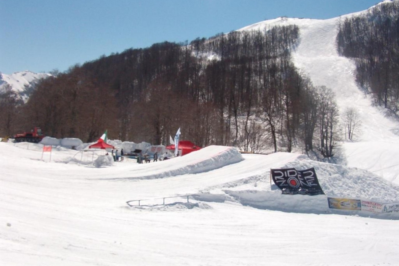 giacomains snow park Campo Staffi Frosinone