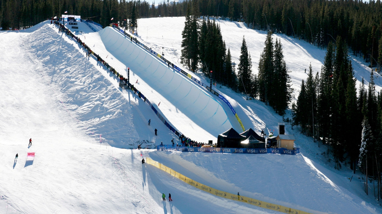Halfpipe Copper Mountain