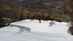 Stinger Terrain Park Ski Sundown New Hartford