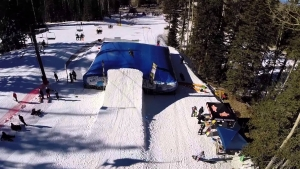 Sunset Terrain Park Arizona Snowbowl Flagstaff