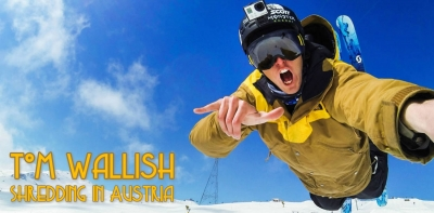 Tom Wallish in Stubai
