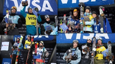 """FIS Freestyle Skiing World Cup - Park City a tutto """"Gus"""""""