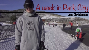 A Week in Park City with Joss Christensen