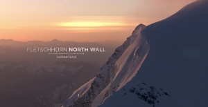 Garmin VIRB: Presenting Shades of Winter-PURE Webisode 3: Fletschhorn North Wall - Switzerland
