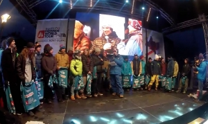 Video Cerimonia d'apertura Swatch Freeride World Tour