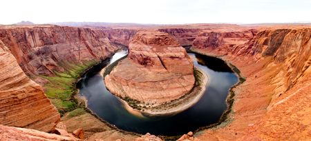Beautiful picture of the Horse Shoe at the Grand Canyon