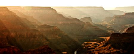 Beautiful image of the Grand Canyon at sunset