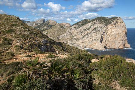 Formentor Cliffs; Majorca; Spain