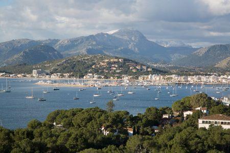 View of Pollenca Port; Majorca; Spain