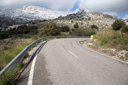 Tramontana Mountains near Puig Major; Majorca; Spain