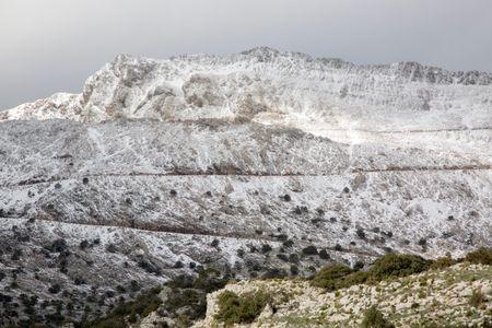 Tramontana Mountains near Puig Major, Majorca, Spain