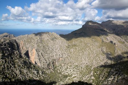 Tramontana Mountains near Lluc, Majorca, Spain