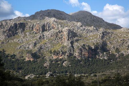 Tramontana Mountains near Lluc; Majorca; Spain