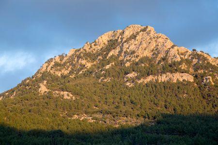 Tramontana Mountains near Deia, Majorca; Spain