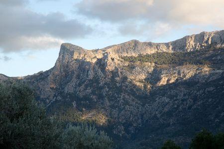 Tramontana Mountains near Soller, Majorca; Spain