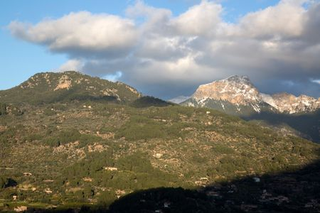 Tramontana Mountains near Soller; Majorca; Spain