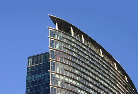 Top of Corporate Building