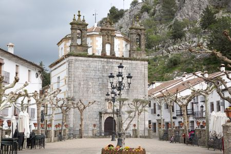 Our Lady of Aurora Church, Grazalema; Andalusia; Spain