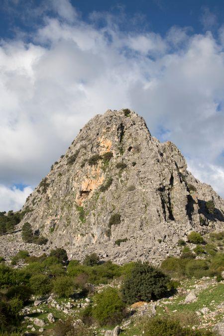 Peak in Grazalema Mountains; Spain