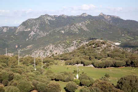 Mountains in Grazalema National Park; Spain;